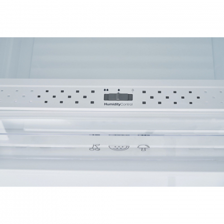 Combina frigorifica Heinner HC-V336XA++, 336 l, Clasa A++, H 186 cm, Tehnologie Less Frost, Control mecanic cu termostat ajustabil, Argintiu [5]