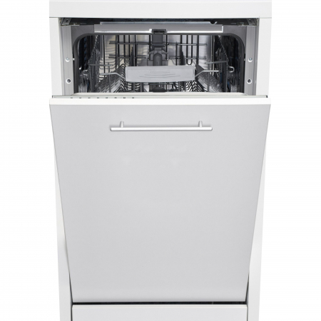 Masina de spalat vase incorporabila Heinner HDW-BI4582TA++, 10 seturi, 8 programe, Clasa A++, Touch Control, Display LED, 45 cm0