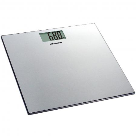 Cantar de persoane Heinner HBS-180SS, 180kg, platforma din inox, 30 x 30 cm, display lcd, Inox0