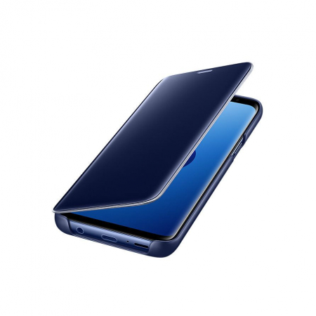 Husa Clear View Mirror Huawei Y6 2019 Blue1