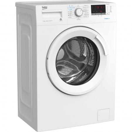 Masina de spalat rufe Slim Beko WRE6512BWW, 6 kg, 1000 RPM, Clasa A+++, Display LED, Alb1