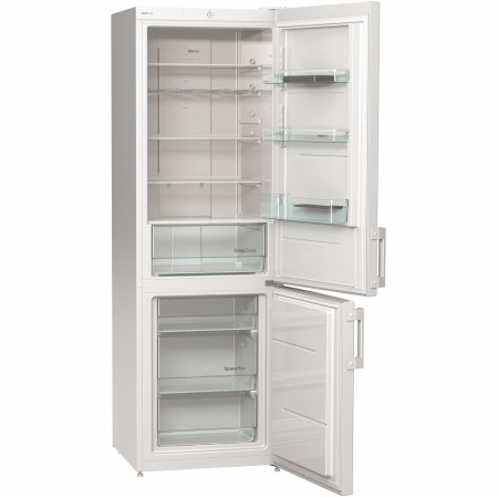 Combina frigorifica Gorenje NRK6191CW, 307 l, Clasa A+, No Frost Plus, 185 cm, Alb1