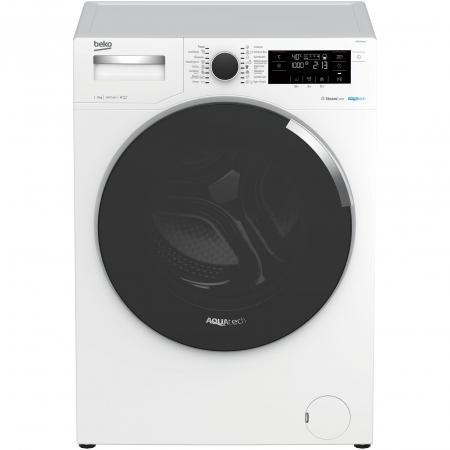 Masina de spalat rufe Beko WTE9744N, 9 kg, 1400 RPM, Clasa A+++, AquaTech SteamCure , ADDGarment, Motor ProSmart Inverter, Alb0
