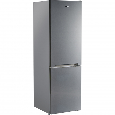Combina frigorifica Heinner HC-V336XA++, 336 l, Clasa A++, H 186 cm, Tehnologie Less Frost, Control mecanic cu termostat ajustabil, Argintiu [1]
