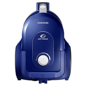 Aspirator fara sac Samsung VCC43Q0V3B, 1.3 l, 850 W, Air Track, Tub telescopic, Albastru [1]
