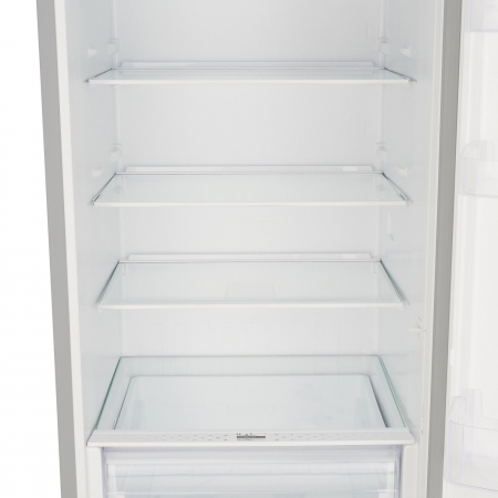Combina frigorifica Heinner HC-V336XA++, 336 l, Clasa A++, H 186 cm, Tehnologie Less Frost, Control mecanic cu termostat ajustabil, Argintiu3