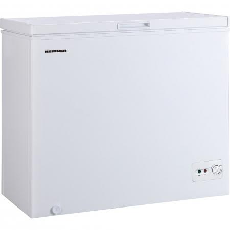 Lada frigorifica Heinner HCF-M200CA+, 198 l, Clasa A+, Sistem Convertibil Frigider/Congelator, Control mecanic, Alb0