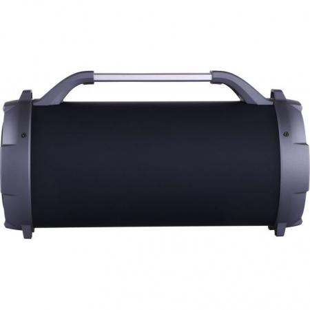 Boxa portabila cu trei difuzoare bazooka AKAI ABTS-13K cu BT , USB, Micro SD card , FM Radio , Aux-in 3.5mm ,Functie Karaoke ,Baterie reincarcabila, Lumini Led , Maner aluminiu3
