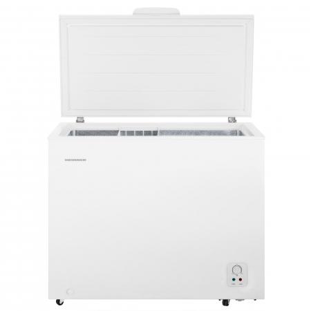 Lada frigorifica Heinner HCF-N250A+, 245 l, Clasa A+, Control mecanic, H 84.2 cm, Alb0