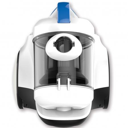 Aspirator fara sac Heinner HVC-MC700WB, 700 W, 2 L, Hepa 10, Albastru/Alb3