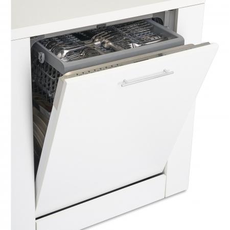 Masina de spalat vase incorporabila Heinner HDW-BI6083TA++, 15 seturi, 8 programe, Clasa A++, Touch Control, Display LED, 60 cm1
