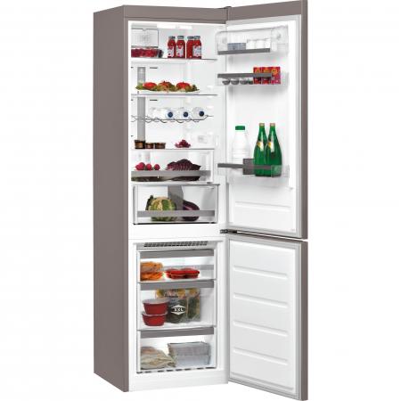 Combina frigorifica Whirlpool BSNF 9782 OX, 339 l, Clasa A++, Full No Frost, 6th Sense, H 201 cm, Inox1