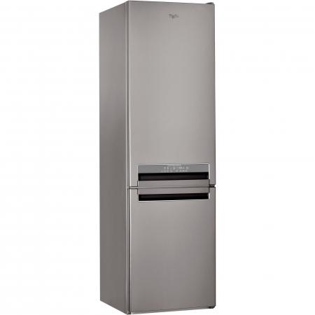 Combina frigorifica Whirlpool BSNF 9782 OX, 339 l, Clasa A++, Full No Frost, 6th Sense, H 201 cm, Inox0