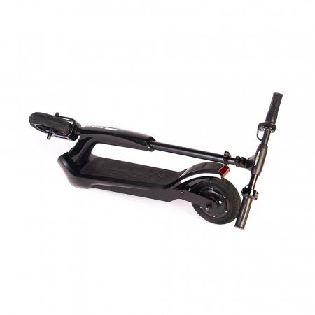 Trotineta electrica Freewheel Rider T1, Viteza 20 km/h, Autonomie 25 km, Motor 300W, Aplicatie smartphone, Roti gonflabile 8 inch, Negru3