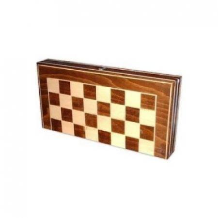 Joc de table si sah din lemn 26 x 261