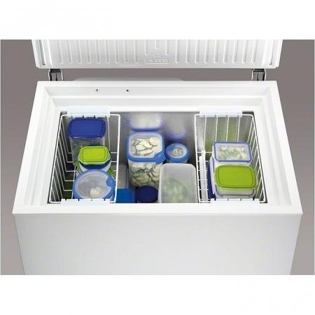Lada frigorifica Zanussi ZFC26400WA, 260 l, Clasa A+, Alb
