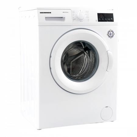 Masina de spalat rufe Heinner HWM–V7012A++, 7KG, 1200 RPM, Clasa A++, Ecran digital, Functie start intarziat, Sistem Eco Logic, Program Allergy Safe, 60 cm, Alb [2]