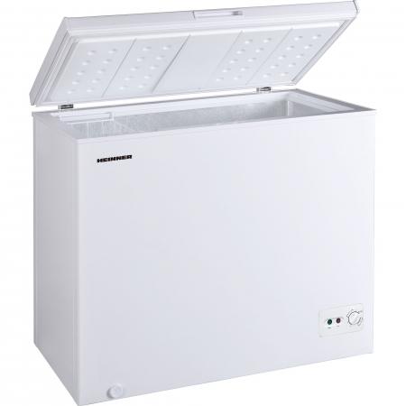 Lada frigorifica Heinner HCF-M200CA+, 198 l, Clasa A+, Sistem Convertibil Frigider/Congelator, Control mecanic, Alb1