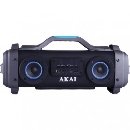 Boxa portabila AKAI ABTS-SH01 cu patru difuzoare super blaster , cu functie Karaoke ,Bluetooth , USB , Aux-in 3.5mm , Baterie reincarcabila [0]