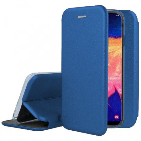 Husa Samsung Galaxy A10 Flip Case Elegance Blue1