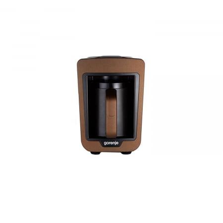 Aparat pentru preparat cafea turceasca Gorenje ATCM730T, 730W, 270 ml, Negru/Maro0