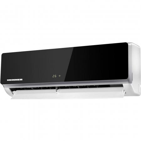 Aparat de aer conditionat Heinner HAC-09SL++ Inverter, 9000 BTU, Clasa A++, Display LCD, Auto Restart, Autodiagnoza, Gri lucios [1]