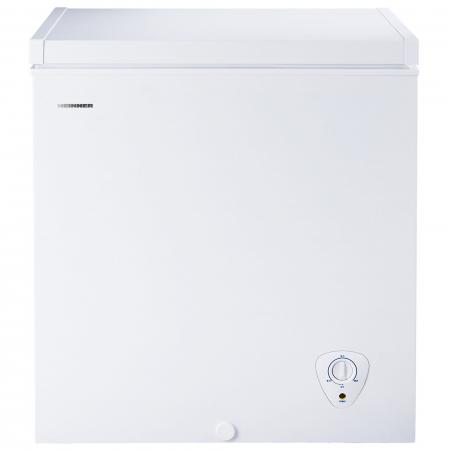 Lada frigorifica Heinner HCF-145A+, 145 l, Clasa A+, H 82.5 cm, Alb0