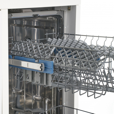 Masina de spalat vase incorporabila Heinner HDW-BI4582TA++, 10 seturi, 8 programe, Clasa A++, Touch Control, Display LED, 45 cm3