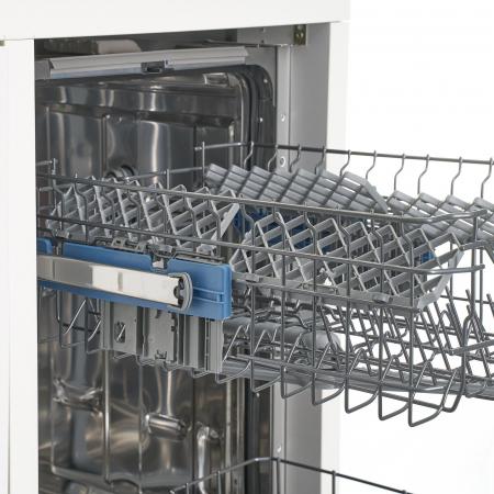 Masina de spalat vase incorporabila Heinner HDW-BI6083TA++, 15 seturi, 8 programe, Clasa A++, Touch Control, Display LED, 60 cm4