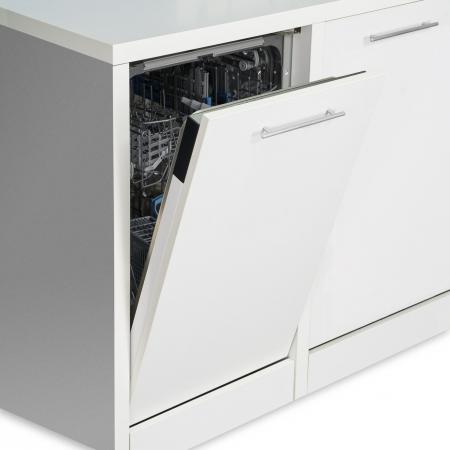 Masina de spalat vase incorporabila Heinner HDW-BI4582TA++, 10 seturi, 8 programe, Clasa A++, Touch Control, Display LED, 45 cm2