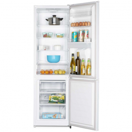 Combina frigorifica Heinner HC-N262WD+, 262 l, Dozator de apa, Clasa A+, H 180 cm, Alb7