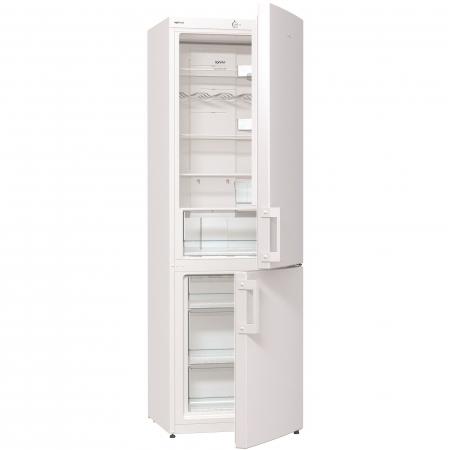 Combina frigorifica Gorenje NRK6191CW, 307 l, Clasa A+, No Frost Plus, 185 cm, Alb0