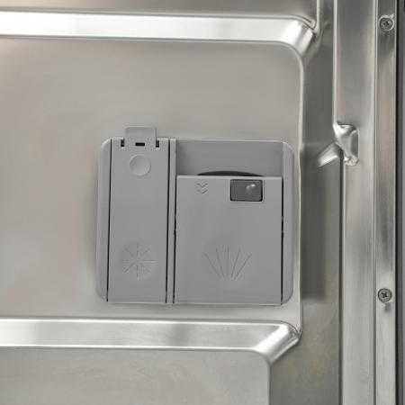 Masina de spalat vase Heinner HDW-FS6006DSA++, 12 seturi, 6 programe, Clasa A++, Control electronic, Display LED, 60 cm, Argintiu [6]