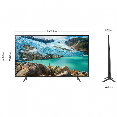 Televizor LED Smart Samsung, 125 cm, 50RU7172, 4K Ultra HD10