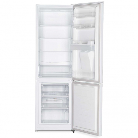 Combina frigorifica Heinner HC-N262WD+, 262 l, Dozator de apa, Clasa A+, H 180 cm, Alb1