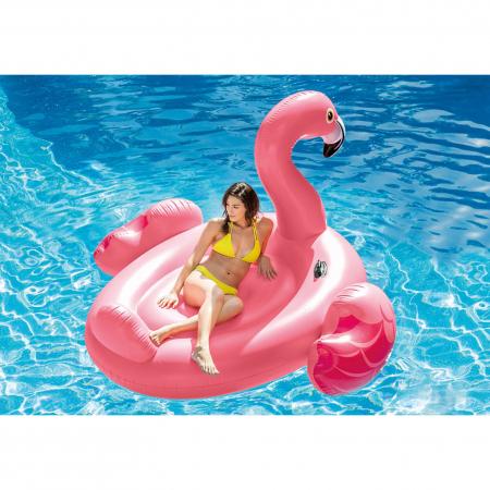 Saltea gonflabila Intex Flamingo Pink, 2.18m x 2.11m0