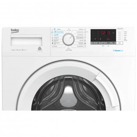 Masina de spalat rufe Slim Beko WRE6512BWW, 6 kg, 1000 RPM, Clasa A+++, Display LED, Alb4