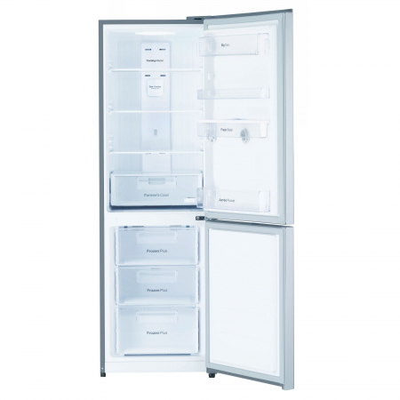 Combina frigorifica Daewoo RN-307RDQM, 305 l, Clasa A+, No Frost, Display, Dispenser apa, H 187 cm, Silver [2]