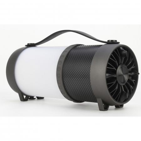 Boxa portabila Akai ABTS-40, lampa LED, negru1