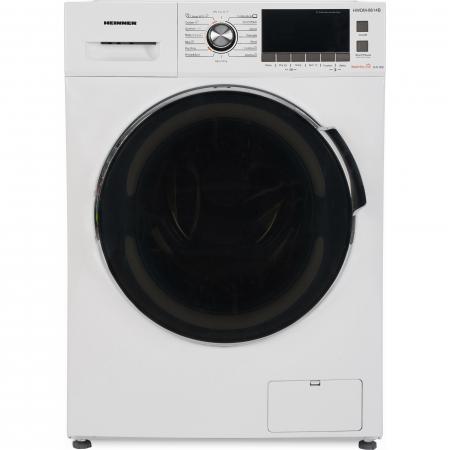 Masina de spalat rufe cu uscator Heinner HWDM-8614B, Spalare 8 kg, Uscare 6 kg 1400 RPM, Clasa B, Display LCD, 60 cm, Alb1