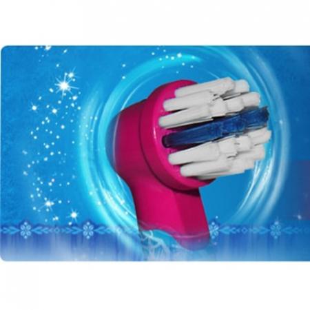 Rezerva periuta de dinti electrica pentru copii Oral-B Frozen EB10-2, 2 buc4
