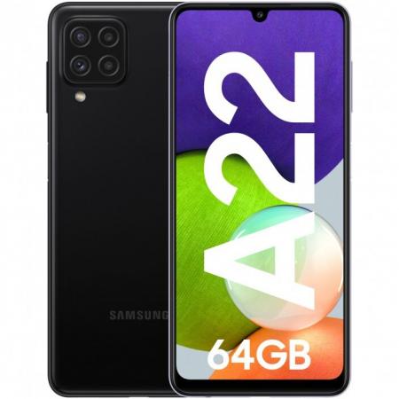 Telefon mobil Samsung Galaxy A22, Dual SIM, 128GB, 5G, Gray [0]