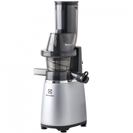 Storcator de fructe si legume Slow Juicer Electrolux ESJ4000, 150 W, Tub XXL, Recipient de suc 1.75 L, Functie Reverse, Inox0