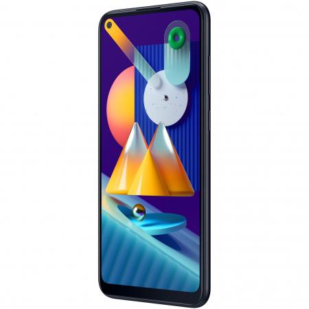 Telefon mobil Samsung Galaxy M11, Dual SIM, 32GB, 4G, Black3