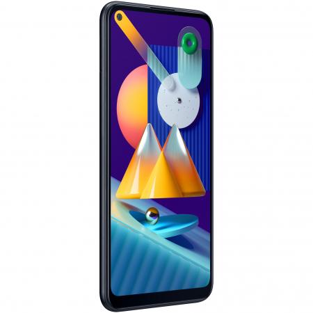 Telefon mobil Samsung Galaxy M11, Dual SIM, 32GB, 4G, Black2