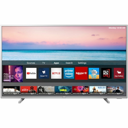 Televizor LED Smart Philips, 108 cm, 43PUS6554, 4K Ultra HD0