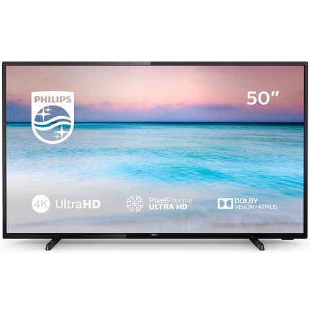 Televizor LED Smart Philips, 126 cm, 50PUS6504/12, 4K Ultra HD1
