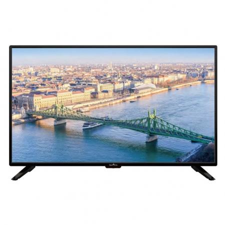 Televizor LED Smart Tech, SMT39Z30HC1L1B1, 98 cm, HD, Negru0