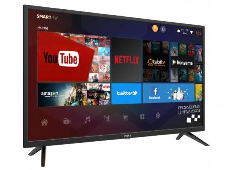 """Televizor LED Smart VIVAX 40LE113T2S2SM 40"""" (102 cm), Smart TV, Plat, Full HD, Android, Negru [2]"""