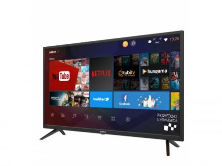 """Televizor LED Smart VIVAX 40LE113T2S2SM 40"""" (102 cm), Smart TV, Plat, Full HD, Android, Negru [1]"""